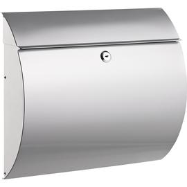 ALCO Briefkasten 8607 37,5x33x12cm Metall silber Produktbild