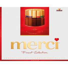 merci Schokolade Große Vielfalt 264295 250 g/Pack. (PACK=250 GRAMM) Produktbild
