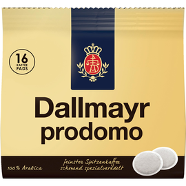 Dallmayr Kaffeepad Prodomo 038016007 16 St./Pack. (PACK=16 STÜCK) Produktbild