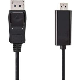 Nedis HDMI-Kabel CCGP37100BK30 DisplayPort 3m sw Produktbild