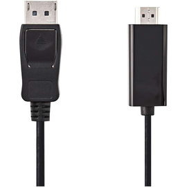 Nedis HDMI-Kabel CCGP37100BK20 DisplayPort 2m sw Produktbild