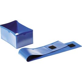 DURABLE Palettenfußbanderole 172407 145x75mm dunkelblau 50 St./Pack. (PACK=50 STÜCK) Produktbild