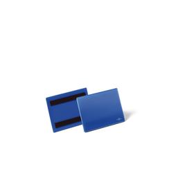 DURABLE Kennzeichnungstasche 175607 DIN A6 quer dunkelblau 50 St./Pack. (PACK=50 STÜCK) Produktbild