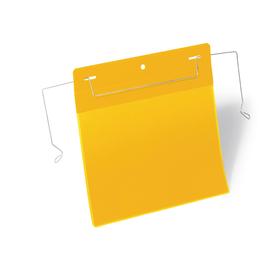 DURABLE Kennzeichnungstasche 175204 Bügel A5 quer ge 50 St./Pa (PACK=50 STÜCK) Produktbild