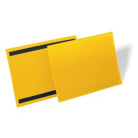 DURABLE Kennzeichnungstasche 174504 A4 quer magn. ge 50 St./Pack. (PACK=50 STÜCK) Produktbild