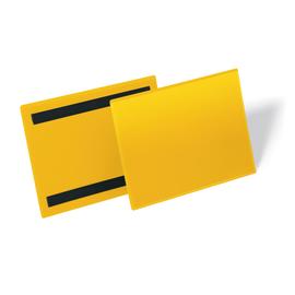 DURABLE Kennzeichnungstasche 174304 A5 quer magn. ge 50 St./Pack. (PACK=50 STÜCK) Produktbild