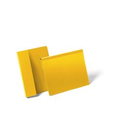 DURABLE Kennzeichnungstasche 172204 DIN A5 quer gelb 50 St./Pack. (PACK=50 STÜCK) Produktbild