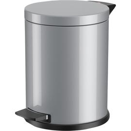 Hailo Tretabfalleimer Solid M 0514-079 12l silber Produktbild