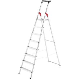 Hailo Stehleiter L60 StandardLine 8160-807 8Stufen Produktbild