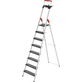 Hailo Stehleiter L100 TopLine 8050-807 8Stufen Produktbild