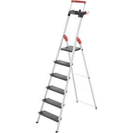 Hailo Stehleiter L100 TopLine 8050-607 6Stufen Produktbild