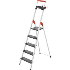Hailo Stehleiter L100 TopLine 8050-507 5Stufen Produktbild