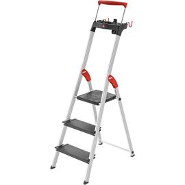 Hailo Stehleiter L100 TopLine 8050-307 3Stufen Produktbild