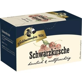Goldmännchen Tee 4482 Schwarzkirsche 20 St./Pack. (PACK=20 STÜCK) Produktbild