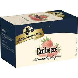 Goldmännchen Tee 4481 Erdbeere 20 St./Pack. (PACK=20 STÜCK) Produktbild