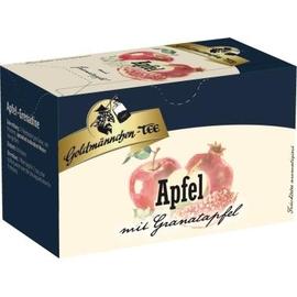 Goldmännchen Tee 4477 Apfel mit Granatapfel 20 St./Pack. (PACK=20 STÜCK) Produktbild