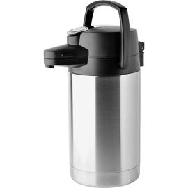 Helios Pumpkanne Coffeestation 8257 2,5l edelstahl/schwarz Produktbild