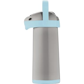 Helios Isolierkanne Airpot 8196-088 1,9l grau/hellblau Produktbild