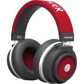 DENVER Kopfhörer BTH-250RED Over-Ear Bluetooth Freisprech rt Produktbild