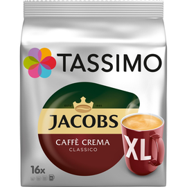 Tassimo Kaffeedisc Caffe Crema Classico XL 4031501 16 St./Pack. (PACK=16 STÜCK) Produktbild