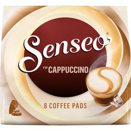 Senseo Kaffeepads Cappuccino 4051014 8 St./Pack. (PACK=8 STÜCK) Produktbild