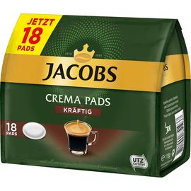 JACOBS Kaffeepad Crema kräftig 193177 18 St./Pack. (PACK=18 STÜCK) Produktbild