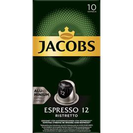 JACOBS Kaffeekapsel Espresso 12 Ristretto 4057020 10 St./Pack. (PACK=10 STÜCK) Produktbild
