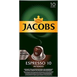 JACOBS Kaffeekapsel Espresso 10 Intenso 4057018 10 St./Pack. (PACK=10 STÜCK) Produktbild