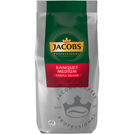 JACOBS Kaffee Bankett Cafe Creme 4055442 ganze Bohne 1kg Produktbild