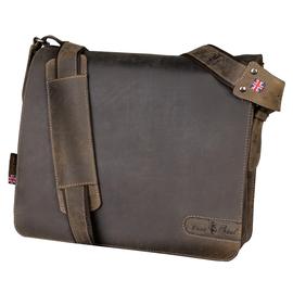 Pride & Soul Notebooktasche BEN 47138 37x33x14cm Echtleder braun Produktbild