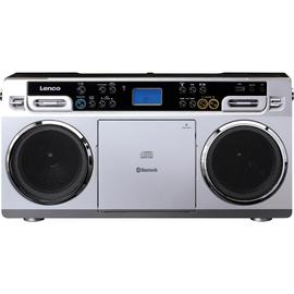 Lenco Radio Vintage-Ghettoblaster SCD-580 CD MP3 USB BT Produktbild