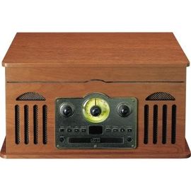 Lenco Plattenspieler TCD-2600WA Radio Kassette CD BT br Produktbild