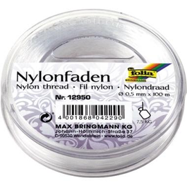folia Nylonfaden 12950 0,5mm x 100m transparent Produktbild
