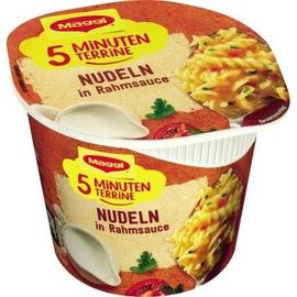 Maggi Gericht 5 Minuten Terrine Nudeln in Rahmsauce 8St. (PACK=8 STÜCK) Produktbild