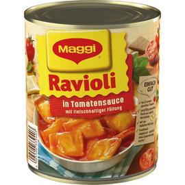 Maggi Fertiggericht Ravioli in Tomatensauce 800g 6St. (PACK=6 STÜCK) Produktbild