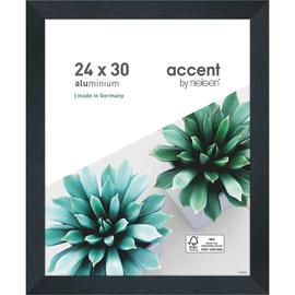 Nielsen Bilderrahmen Star 399068 Aluminium 24x30cm schwarz matt Produktbild