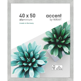 Nielsen Bilderrahmen Star 399064 Aluminium 40x50cm silber matt Produktbild