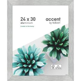 Nielsen Bilderrahmen Star 399062 Aluminium 24x30cm silber matt Produktbild