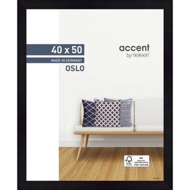 Nielsen Bilderrahmen Oslo 299303 Holz 40x50cm schwarz Produktbild