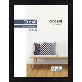 Nielsen Bilderrahmen Oslo 299302 Holz 30x40cm schwarz Produktbild