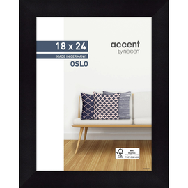 Nielsen Bilderrahmen Oslo 299300 Holz 18x24cm schwarz Produktbild