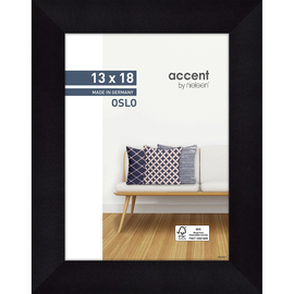 Nielsen Bilderrahmen Oslo 299299 Holz 13x18cm schwarz Produktbild