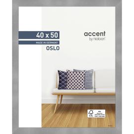 Nielsen Bilderrahmen Oslo 299279 Holz 40x50cm silber Produktbild