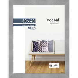 Nielsen Bilderrahmen Oslo 299278 Holz 30x40cm silber Produktbild