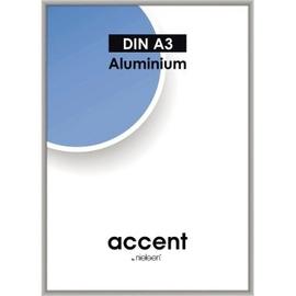 Nielsen Bilderrahmen Accent 59748 Aluminium 29,7x42cm silber matt Produktbild