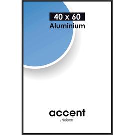 Nielsen Bilderrahmen Accent 55126 Aluminium 40x60cm schwarz matt Produktbild