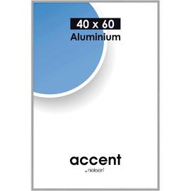 Nielsen Bilderrahmen Accent 55123 Aluminium 40x60cm silber glanz Produktbild