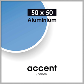 Nielsen Bilderrahmen Accent 54324 Aluminium 50x50cm silber matt Produktbild