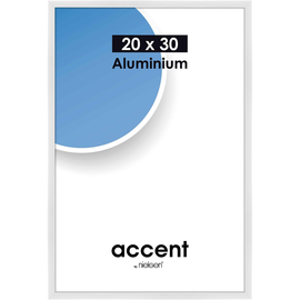 Nielsen Bilderrahmen Accent 53539 Aluminium 20x30cm weiß glanz Produktbild