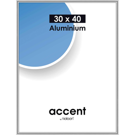 Nielsen Bilderrahmen Accent 52423 Aluminium 30x40cm silber glanz Produktbild
